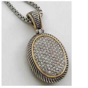 Bling Silver Pendant